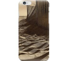 Like Waves in the Sands of Time  iPhone Case/Skin