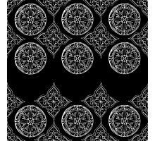 Compass & mandala Photographic Print