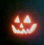 Our Punkin we carved by jcluvdwut