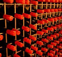 Bottles of Grange by Michael Naylor
