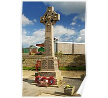 War Memorial, Staithes Poster