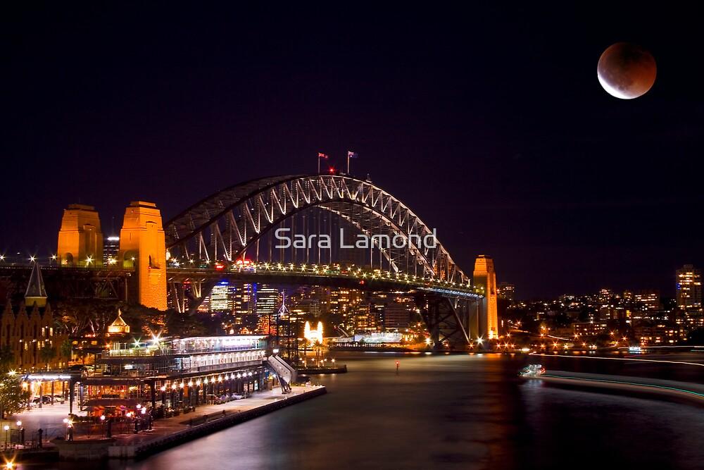 Bridge eclipsed by Sara Lamond