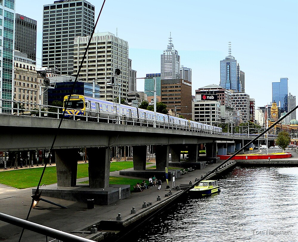 Melbourne III by Tom Newman