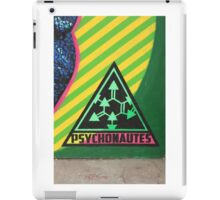 Psychonautes triangle Cork, Street art, iconic iPad Case/Skin