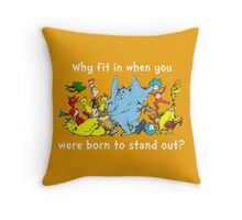 Dr Suess Group Throw Pillow