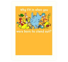 Dr Suess Group Art Print