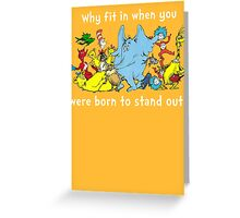 Dr Suess Group Greeting Card