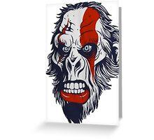Bigfoot (monkey) Greeting Card