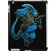 """Salty Roo """"I want the rest of you cowboys to know something, there's a new sheriff in town. And his name is Salty Roo."""" iPad Case/Skin"""
