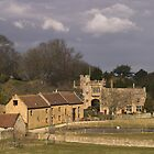 Montacute Castle by SWEEPER