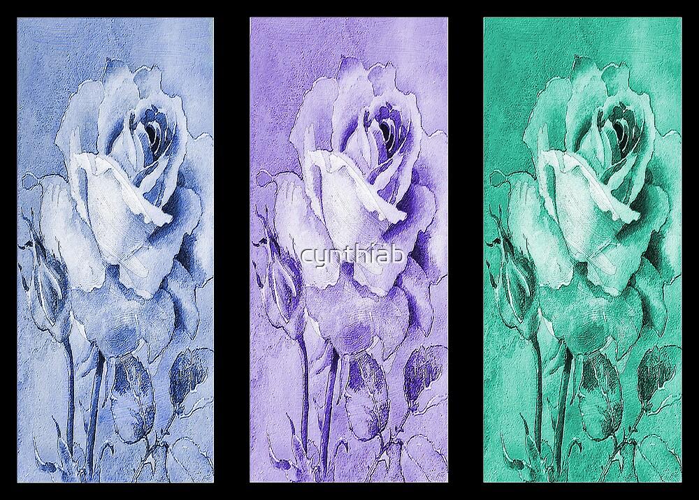 3 roses by cynthiab