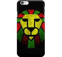 Rasta Lion. iPhone Case/Skin