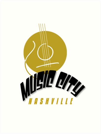 Music City Nashville by SandraWidner