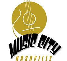 Music City Nashville by SandraWidner