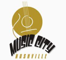 Music City Nashville Kids Tee