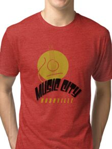 Music City Nashville Tri-blend T-Shirt