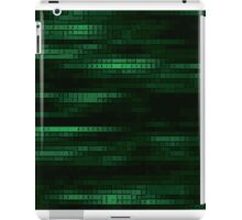 Green Blocks iPad Case/Skin
