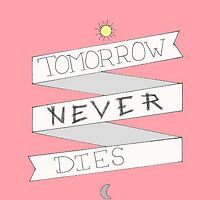 PINK tomorrow never dies by o-my-morgan