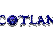 Scotland Skull 45 by Sookiesooker