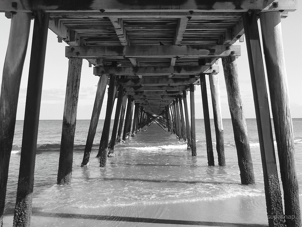 Under the Boardwalk by supasnap