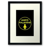 MINIFIG COLLECTOR Framed Print