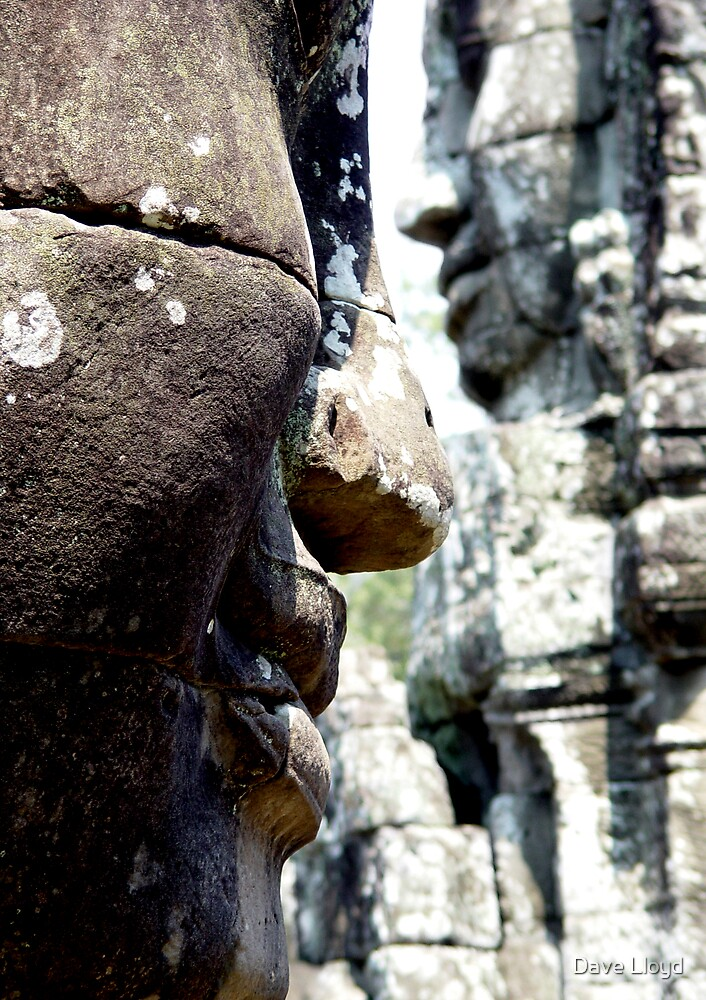Bayon Faces by Dave Lloyd