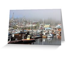 Gibsons Harbour Greeting Card