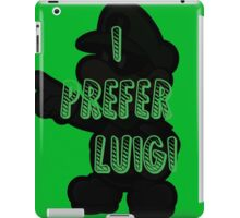 I prefer Luigi bros iPad Case/Skin