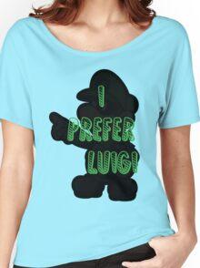 I prefer Luigi bros Women's Relaxed Fit T-Shirt