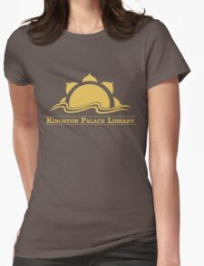 Kingston Palace Library Logo Womens Fitted T-Shirt