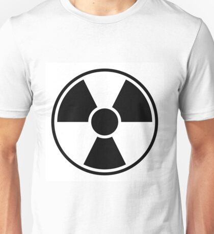 Radiation Warning Sign Unisex T-Shirt