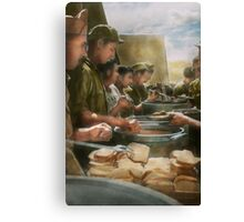 Army - Another potato please Canvas Print