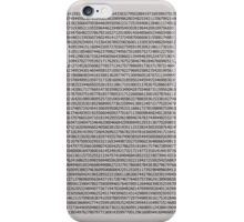 A few decimals iPhone Case/Skin