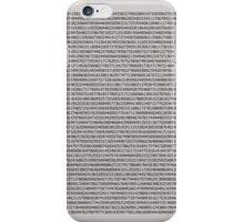 A few decimals iPhone Case/Skin