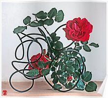 Ikebana-019 Poster