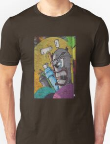 Angry cartoon street art guy, Cork Unisex T-Shirt