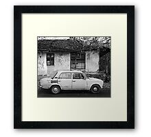 Turbo Sport Framed Print