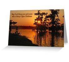 Cajun Christmas Greeting Card