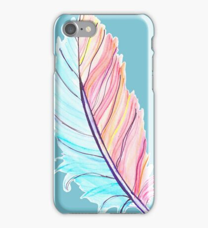 Feather of Fire and Ice iPhone Case/Skin