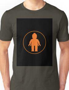 MINIFIG ORANGE Unisex T-Shirt
