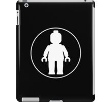 MINIFIG WHITE iPad Case/Skin