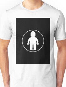 MINIFIG WHITE Unisex T-Shirt