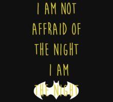 Batman affraid night dark by remohd