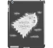 House Doge - Winter Is Coming iPad Case/Skin