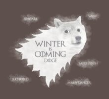 House Doge - Winter Is Coming by GarfunkelArt