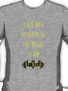 Batman affraid night light T-Shirt
