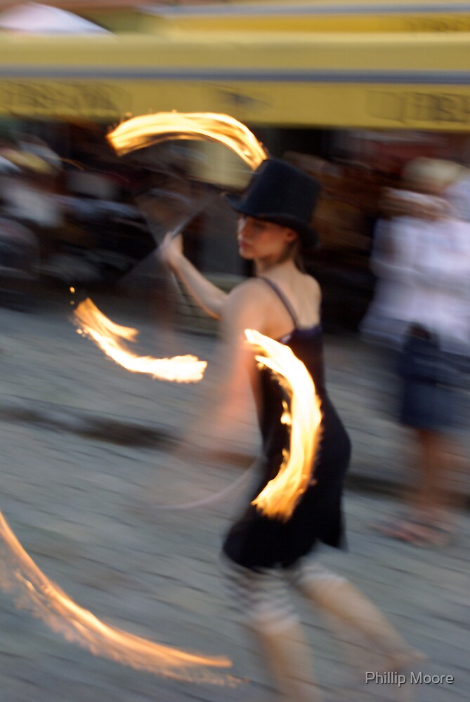Fire Dancer by Phillip Moore