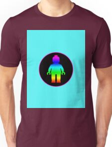 MINIFIG RAINBOW Unisex T-Shirt