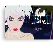 NIGHTS Canvas Print