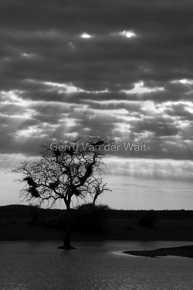 Dramatic Dam Scene by Gerry Van der Walt
